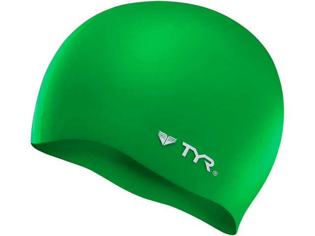 TYR Silicone Casquette No Wrinkle, green